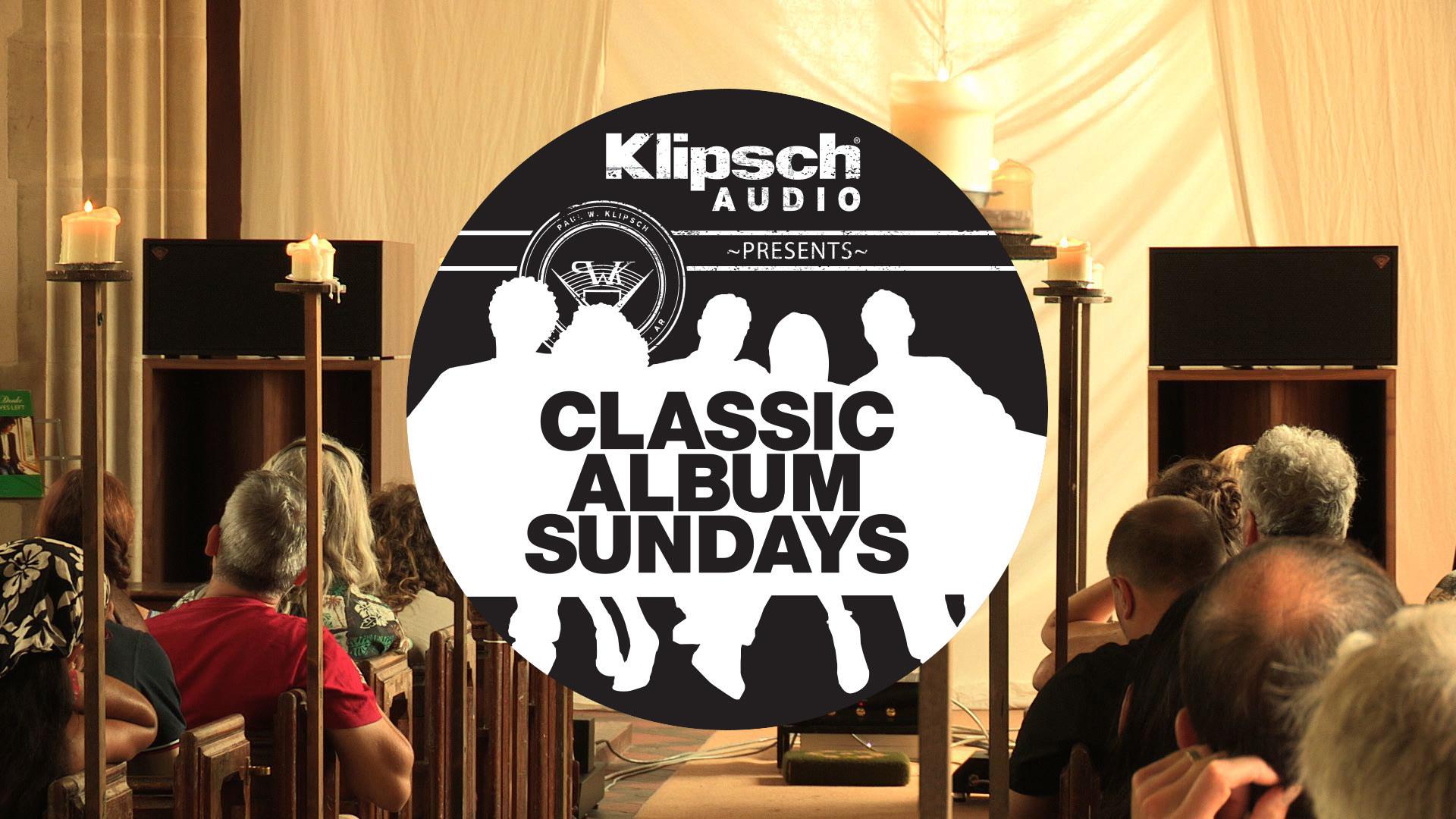 Classic  Album  Sundays  Logo  Klipsch  La  Scalas