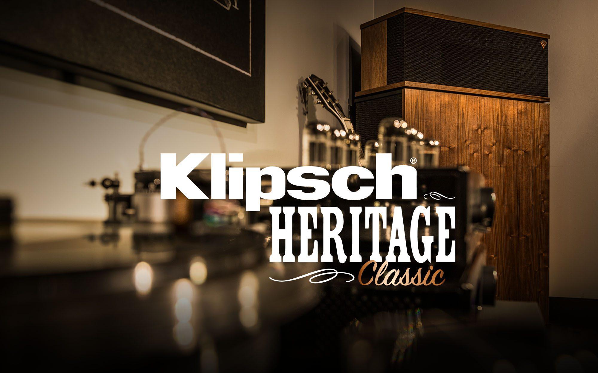 Klipsch Heritage Classic Hero