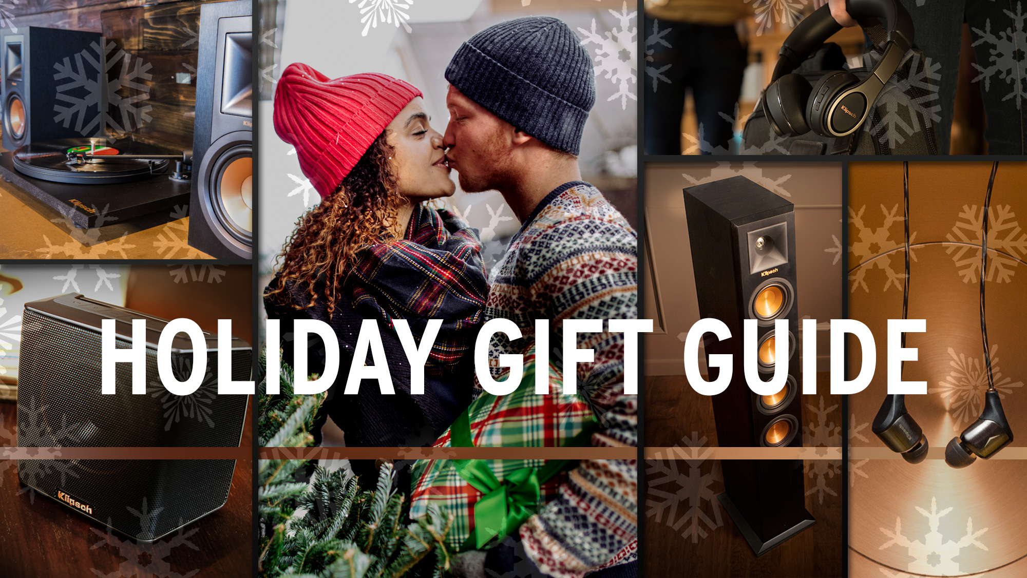 Klipsch Holiday Gift Guide Hero 2017