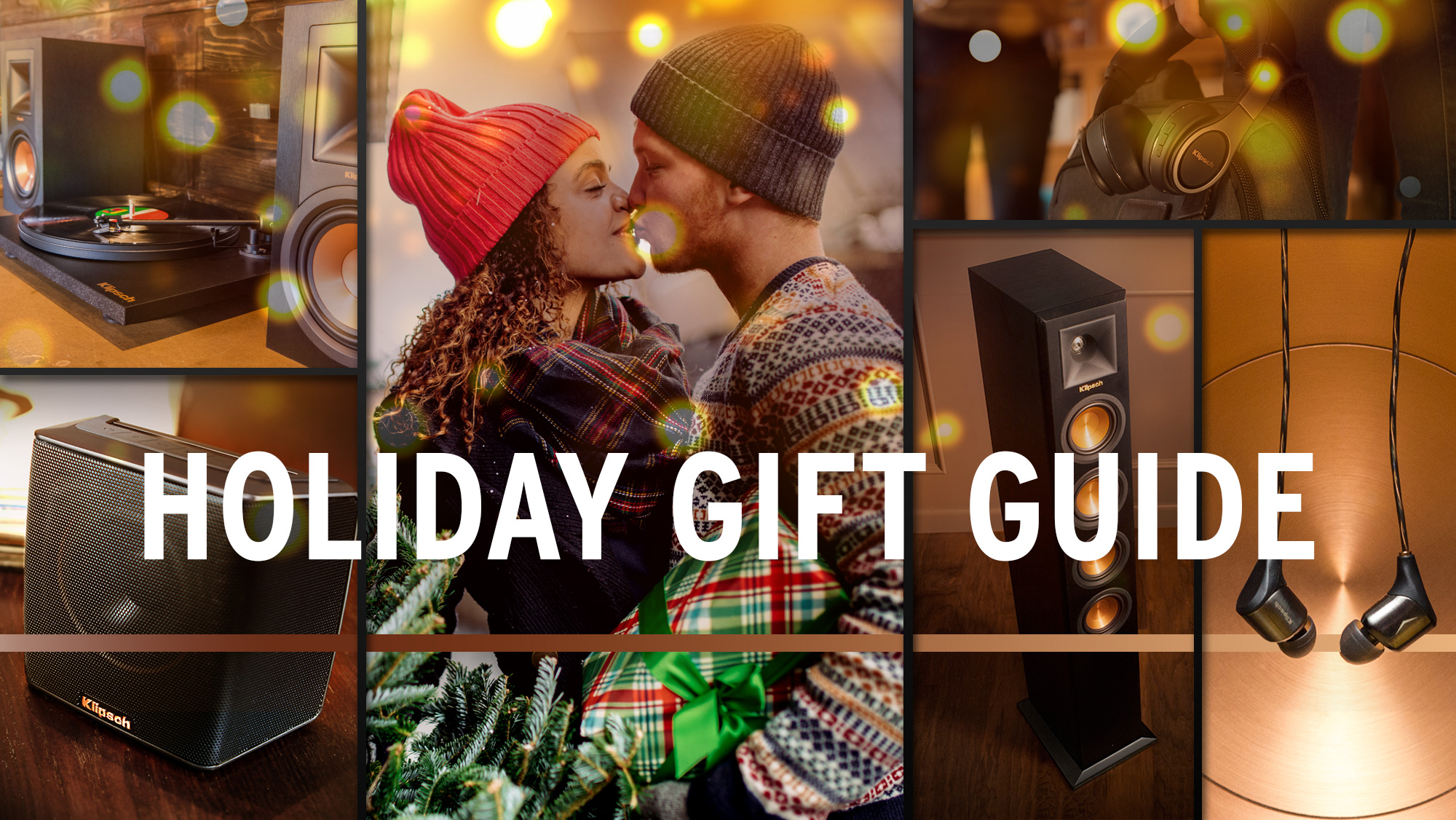 Klipsch Holiday Gift Guide Hero A