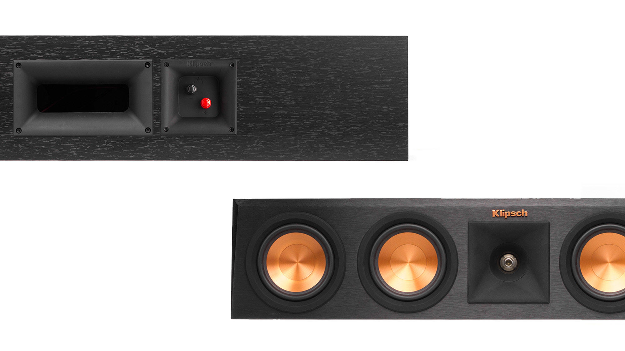 Klipsch  Reference  Premiere  Center  Channel  Speakers  Back