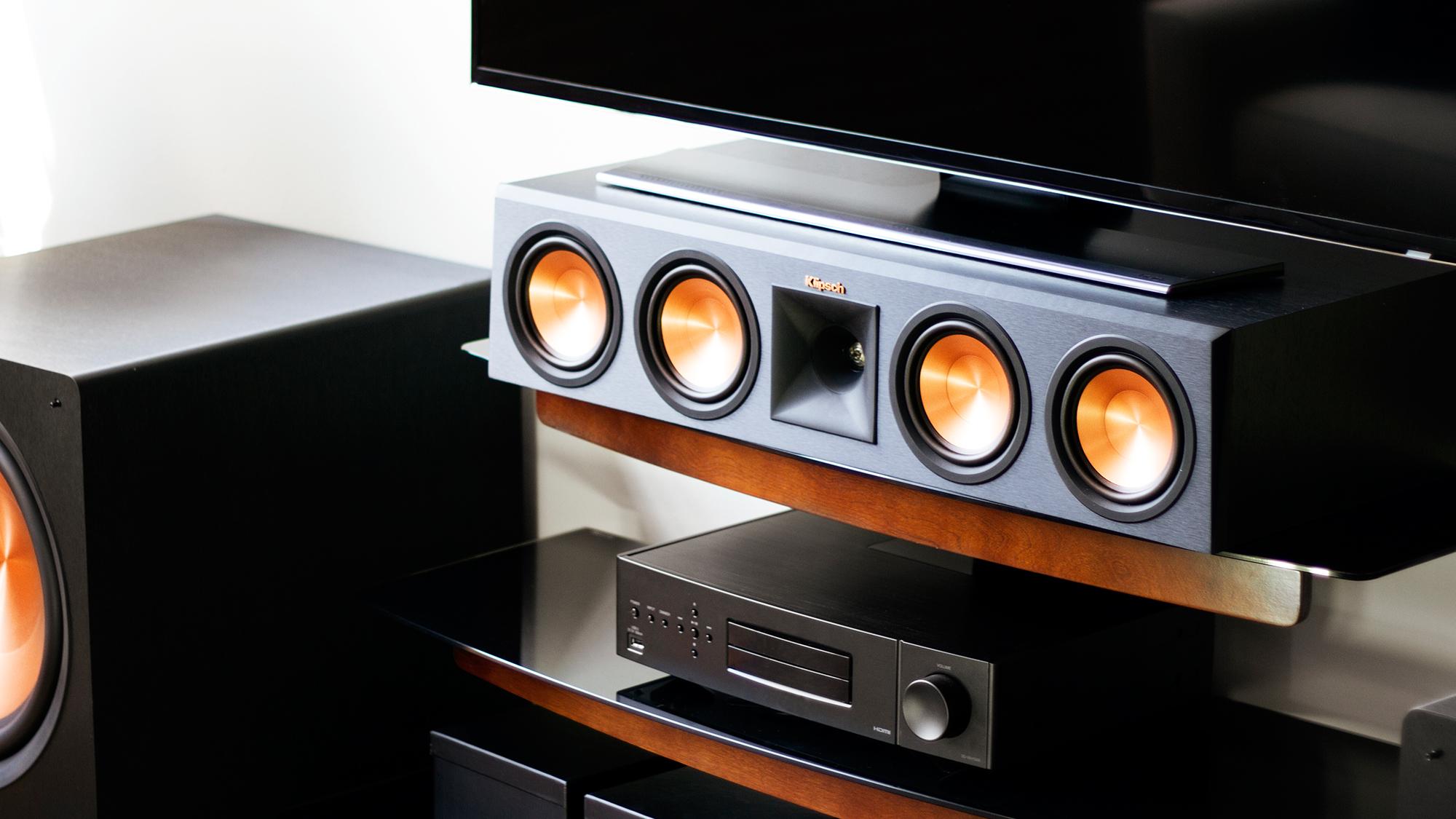 klipsch 250c. Klipsch Reference Premiere Center Channel Speakers Lifestyle. \ 250c 5