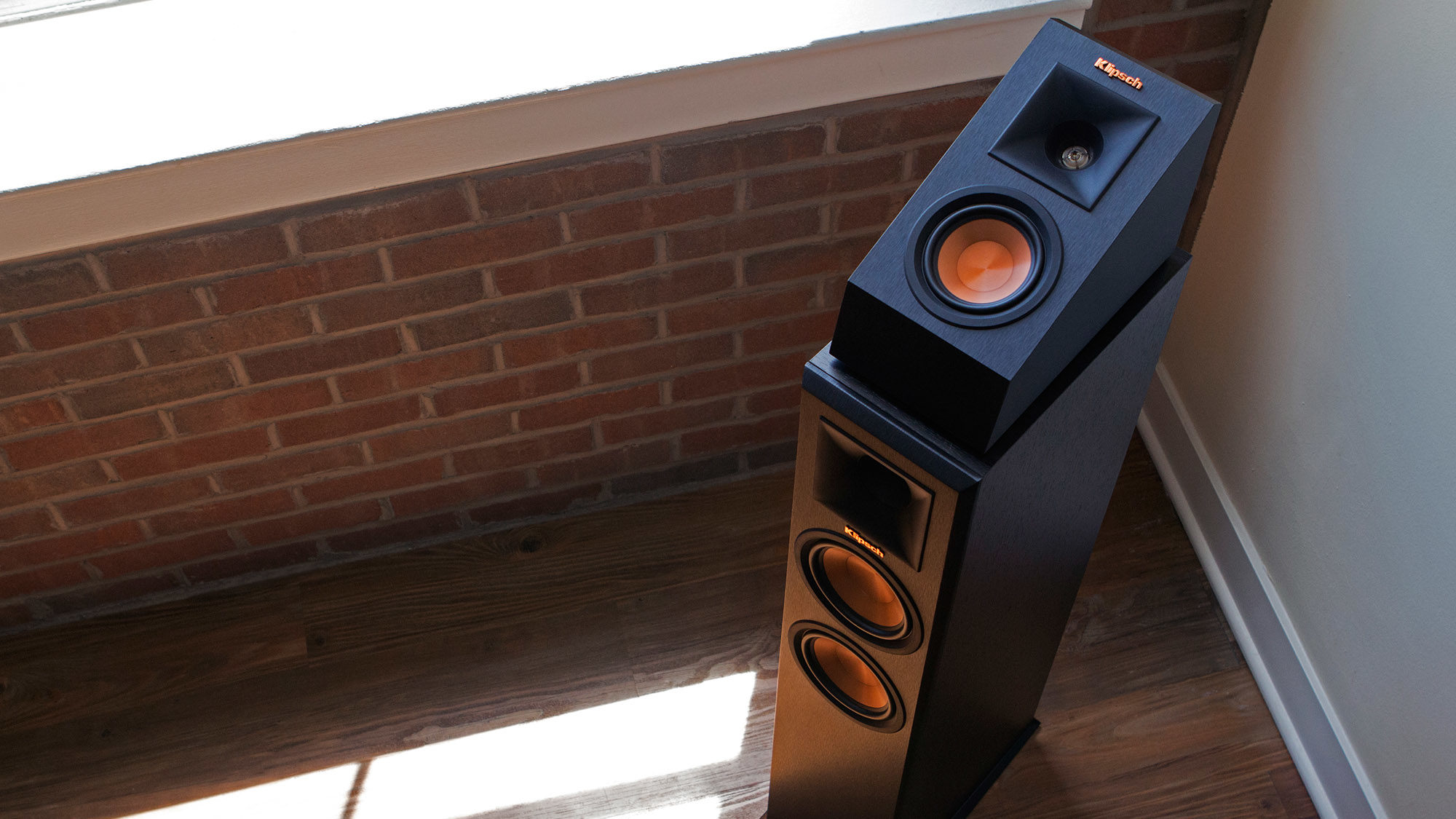 reference premiere elevation speakers klipsch