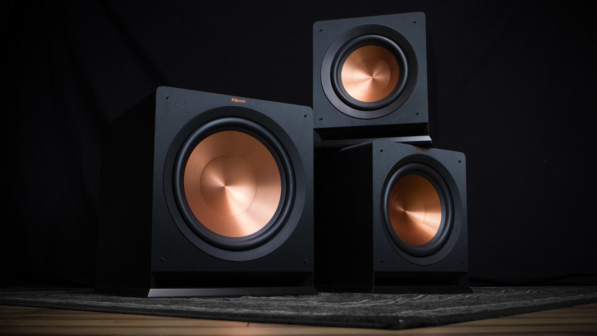 Klipsch  Reference  Subwoofers  Product  Stack