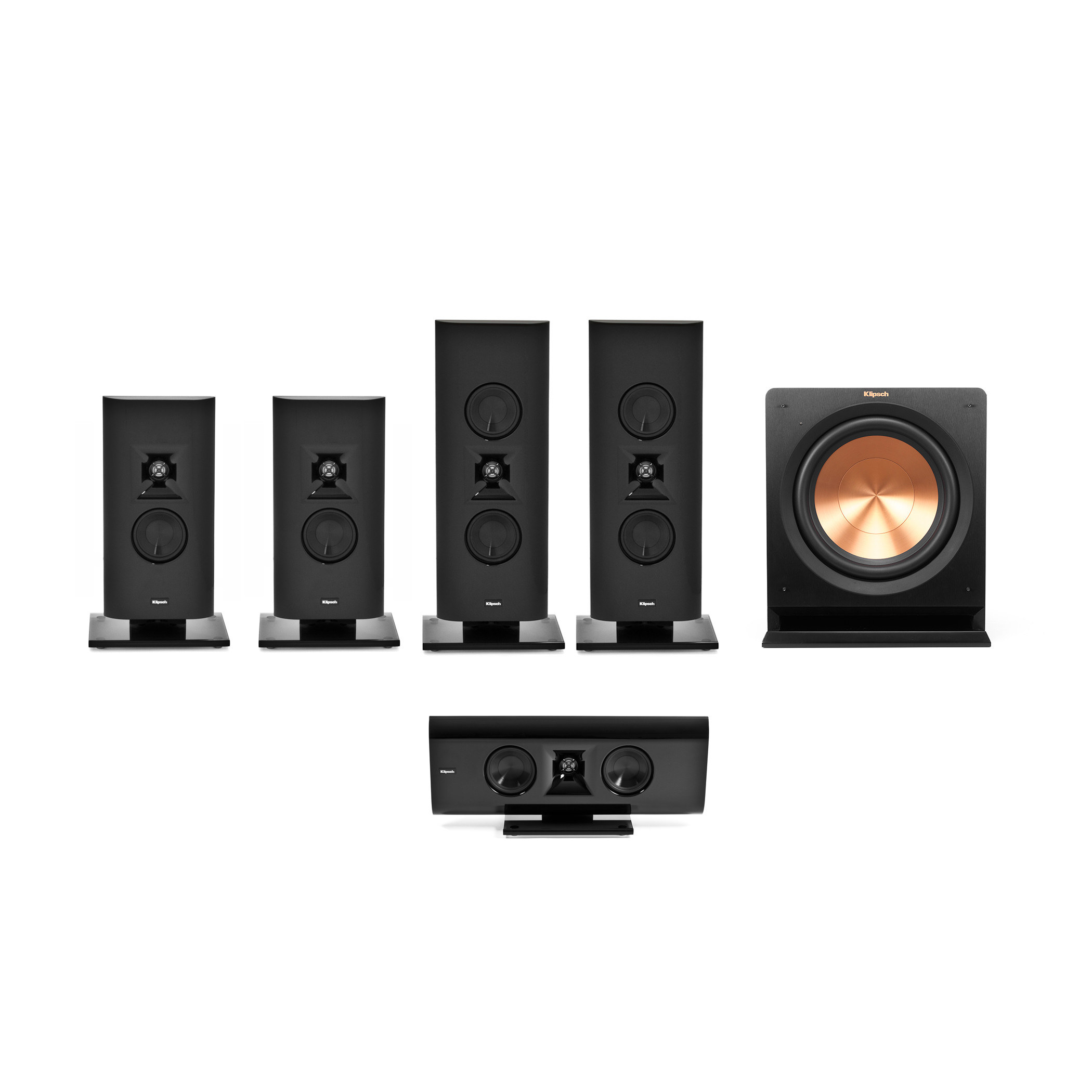gallery home theater systems klipsch. Black Bedroom Furniture Sets. Home Design Ideas