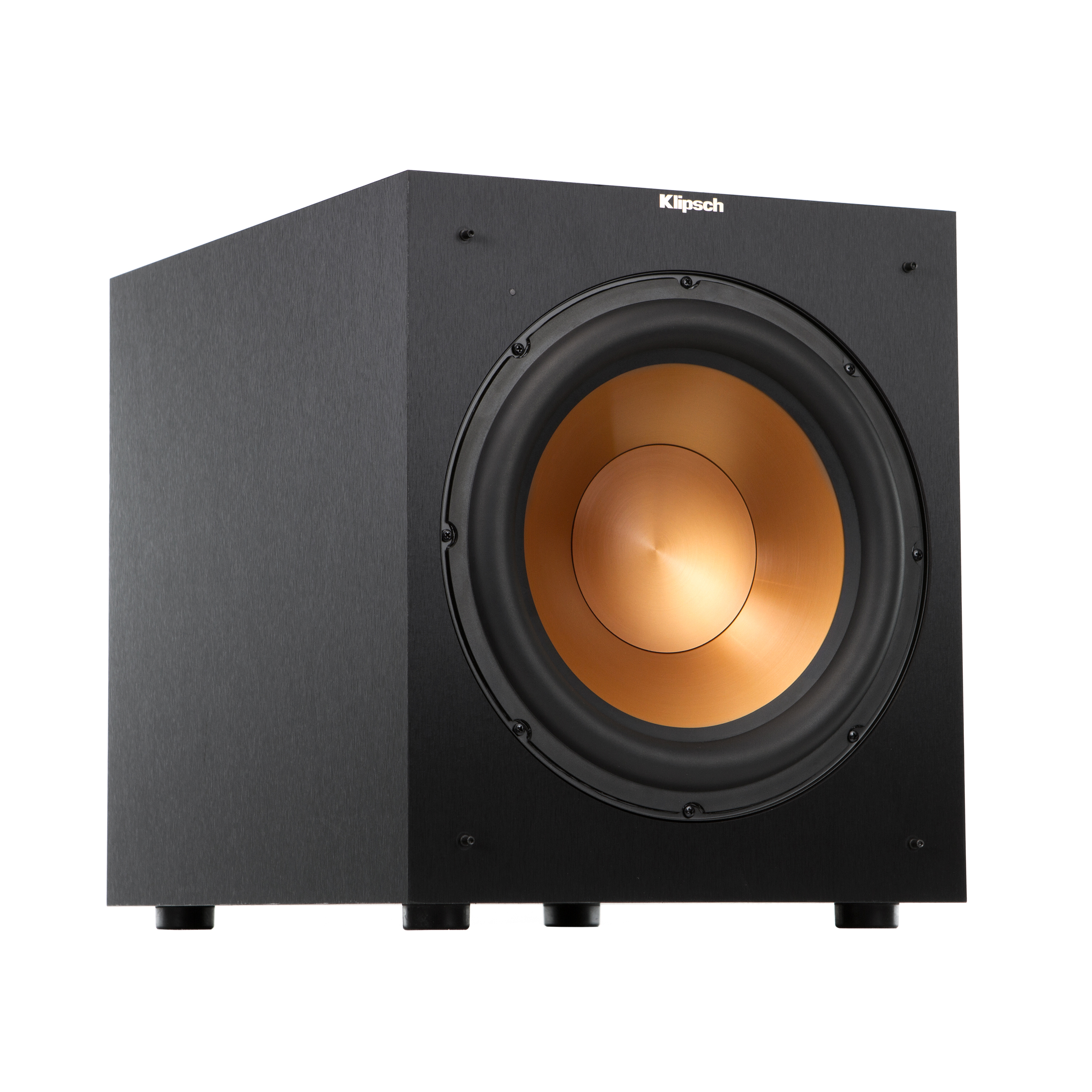 powered reference subwoofers klipsch r 12 sw angle