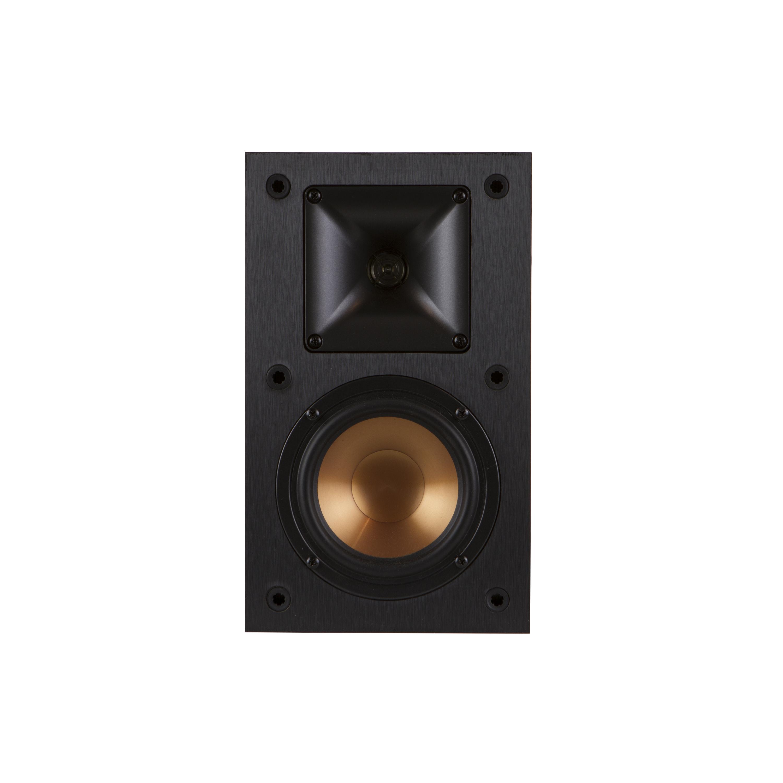 reference bookshelf speakers klipsch r 14 m front