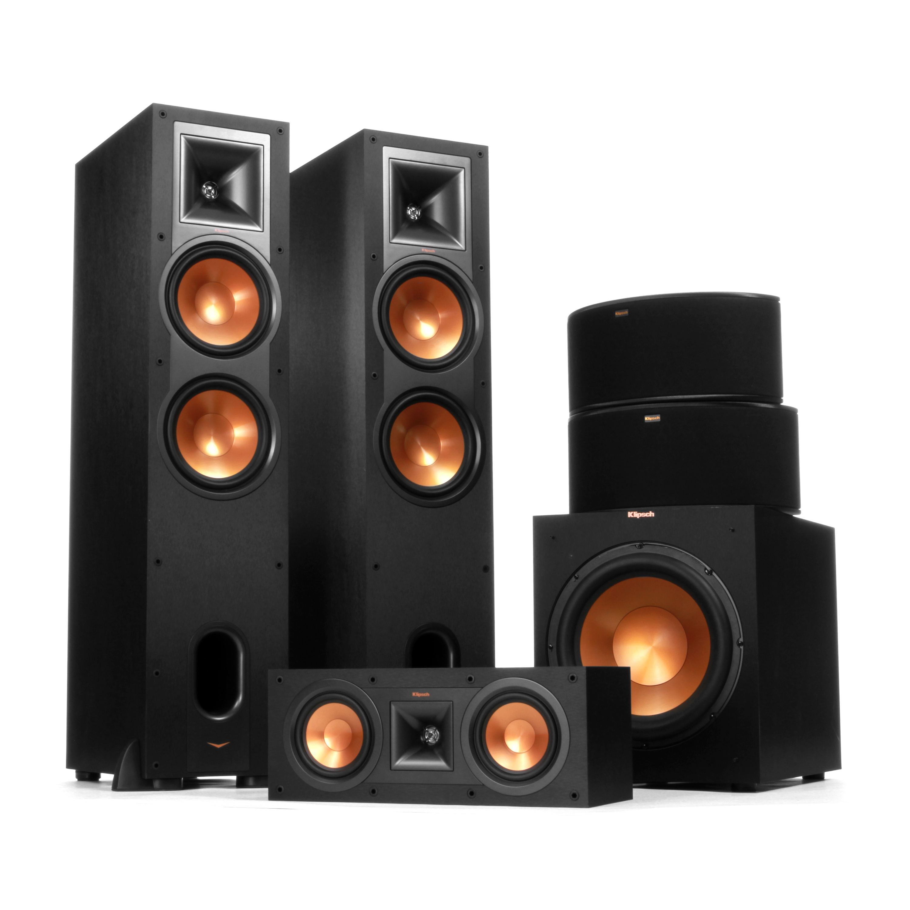 home theater systems surround sound system klipsch. Black Bedroom Furniture Sets. Home Design Ideas