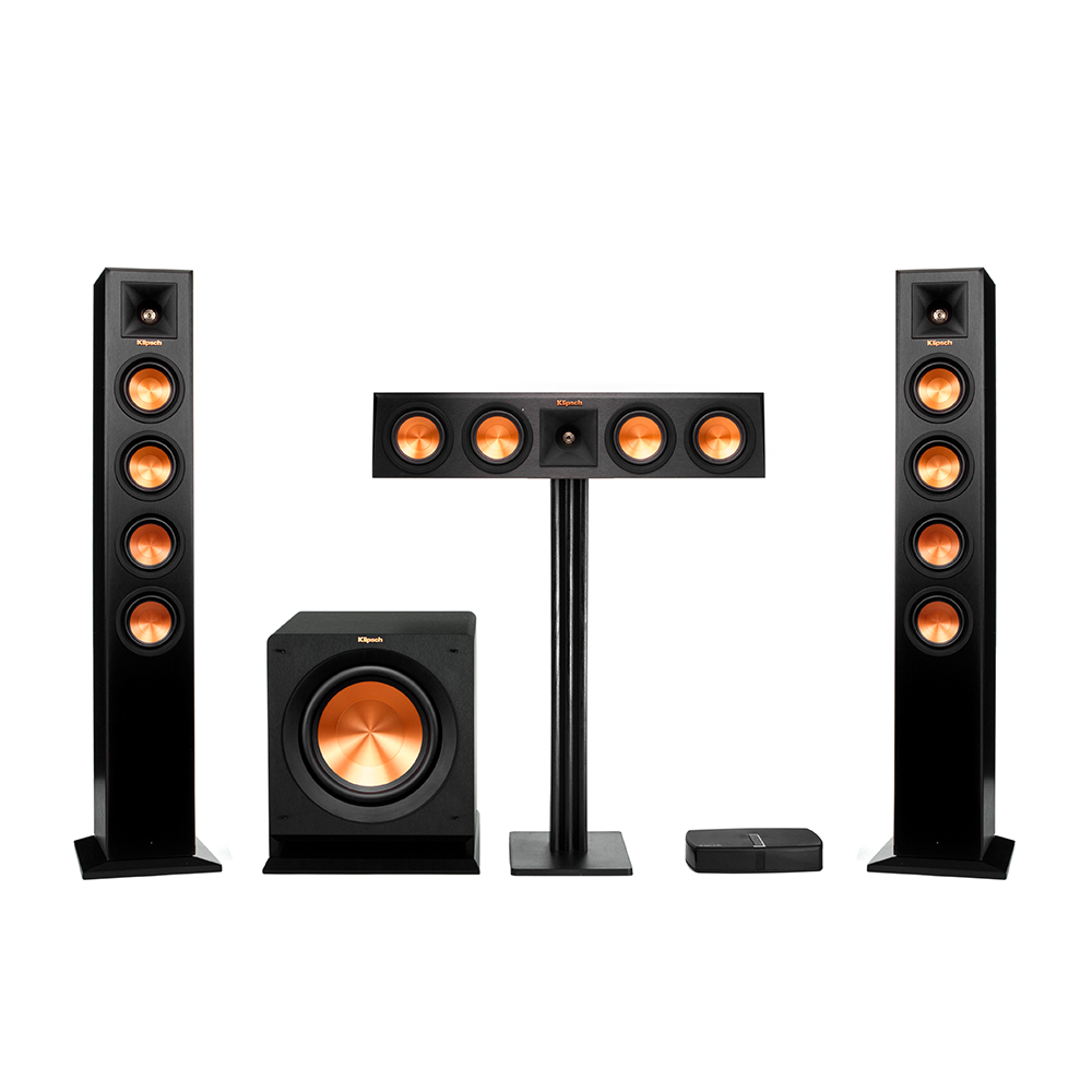 wireless home sound system. reference premiere hd wireless towers 3.1 system home sound