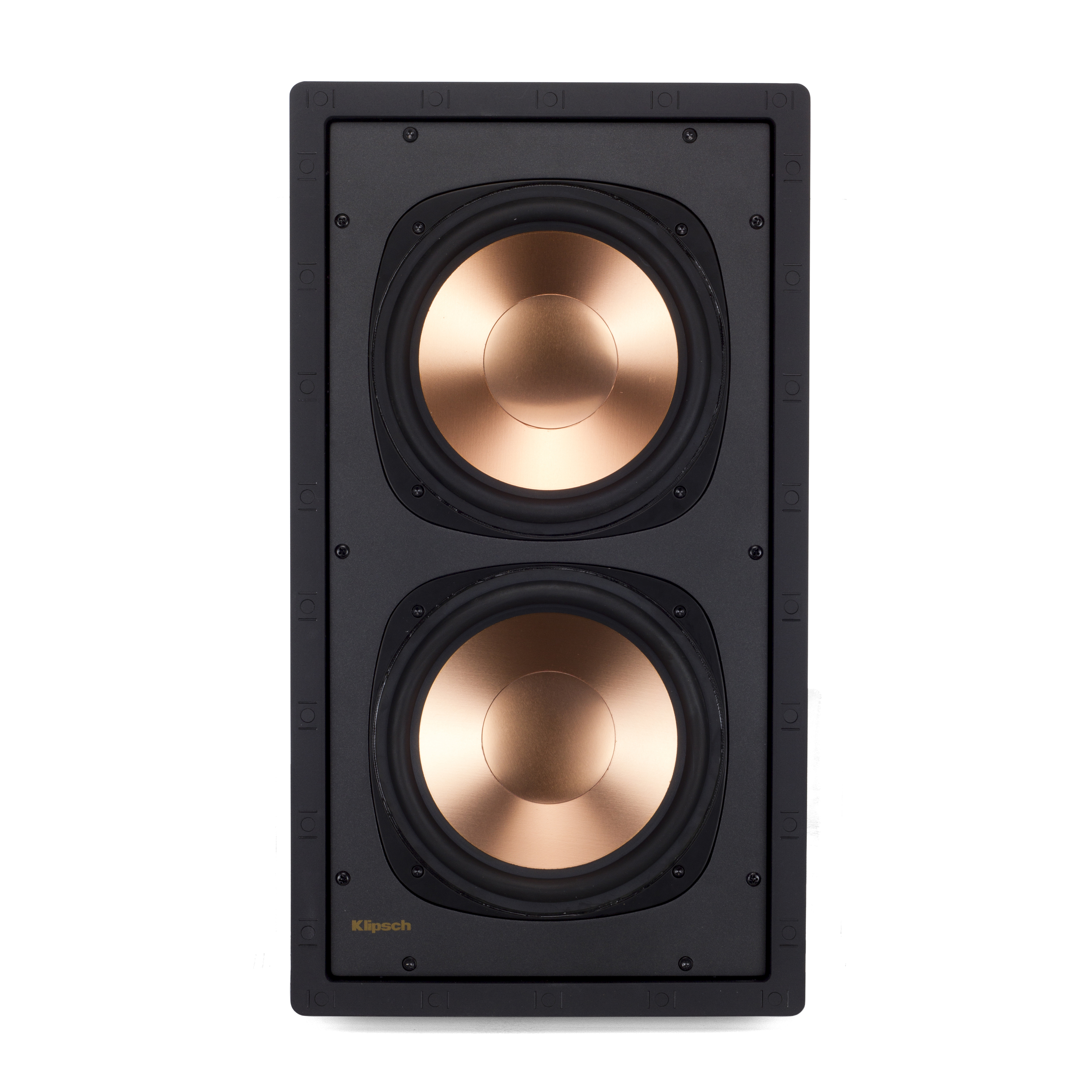 reference in wall speakers klipsch