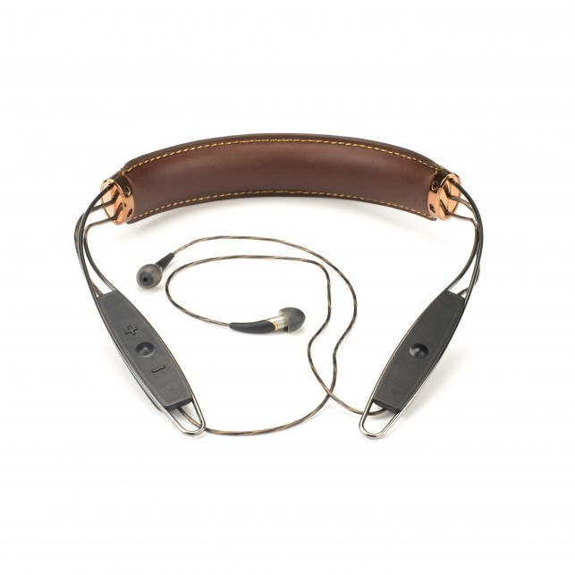 X12 Neckband Brown Front 1390