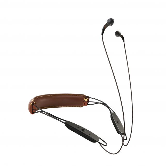 X12 Neckband Brown Leather