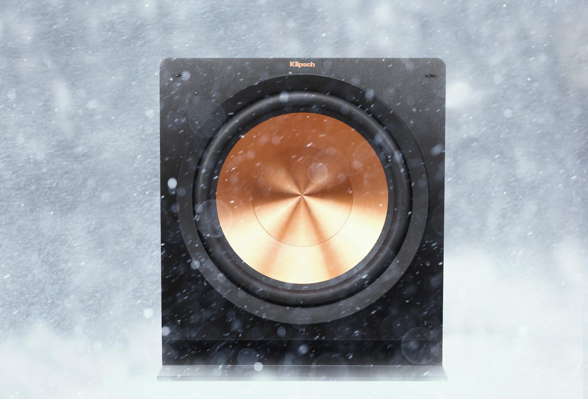 Klipsch Pota Subwoofers Snow